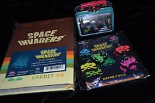 Mixed Lot Space Invaders Retro Journal Zipper Pulls Mini Lunch Box Sealed! New