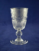 "Stuart Crystal ""BEACONSFIELD"" Sherry / Port Glass – 10.3cms (4″) Tall"