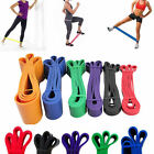 Rubber Stretch Resistance Band Exercise Loop Strength Gym Yoga Bodybuilding
