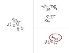 Aussenleuchte - Nebelschlussleuchte Rechts Mercedes SLR : A1998201656