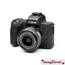 easyCover canon M50 EA-ECCM50B Camera Case Black Silicone  FREE FAST SHIPPING