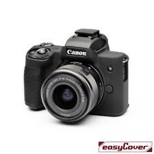 easyCover canon M50 EA-ECCM50B Camera Case Black Silicone  FREE SHIPPING TODAY