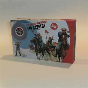 Airfix 1:32 Scale Figures #51469 Western Series 7th Cavalry Empty Repro Box