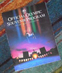 OFFICIAL OLYMPIC SOUVENIR PROGRAM Los Angeles 1984 Olympics XXIII Olympiad