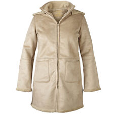 Ladies Jacket Coat Bonded Womans Warm Lined Hood Warm 10-24 RRP £29.99 REDUCED