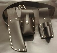 MEK Scaffold Belt Tool Belt Leather Belt Tool Frogs