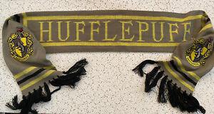 Universal Studios Harry Potter Hufflepuff Scarf Yellow