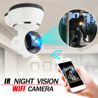 US 1080P HD Wireless WIFI IP CCTV Camera Smart Home Security Night Vision Indoor