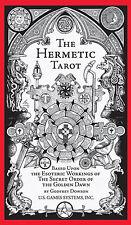 Hermetic Tarot Deck Cards NEW IN BOX Godfrey Dowson Esoteric Golden Dawn Qabalah