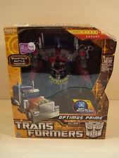 HTF 2009 New Transformers OPTIMUS PRIME Autobot Robot Decepticons Codes Truck