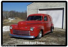 1946  Ford Sedan Refrigerator Magnet