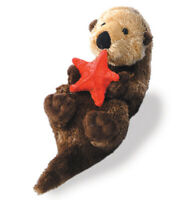 "Otto Mini Flopsie 8"" Aurora Plush Otter Aurora Plush Stuffed Animal"