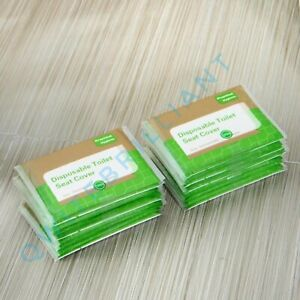 6 x Disposable Toilet Seat Covers Hygienic Flushable Pocket Size| 60 PCS | UK