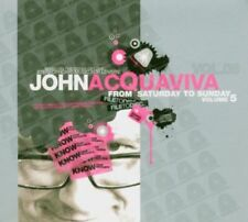 John Acquaviva - From Saturday to Sunday 5 STEVE BUG WINK 2CD NEU