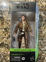 STAR WARS The Black Series HAN SOLO (ENDOR) RETURN OF THE JEDI NEW IN HAND
