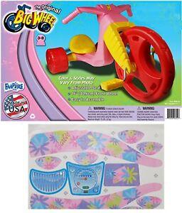 "The Original Big Wheel Trike  Limited Edition for Girls 16"" w/BARBIE Decals USA"