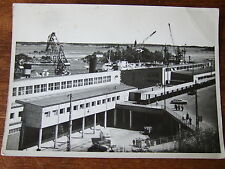 Finland - Helsinki – Helsingfors -Custom House  Cranes & Harbour, R/Photo/Pc