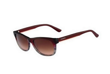 Lacoste sunglasses Lacoste L736S c.615 in Red Gray Striped w/ rose gradient lens