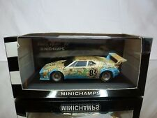 MINICHAMPS BMW M1 LE MANS 1980 PIRONI QUESTER MIGNOT - ANTAR 1:43 - GOOD IN BOX