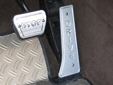 BMW X5 Typ E70/X70 Gaspedalblende/Bremspedalblende aus Alu eloxiert
