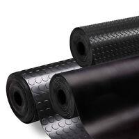 Rubber Flooring Garage Sheeting Matting Rolls 1.2M - 1.5M Wide X 3MM - 5MM THICK