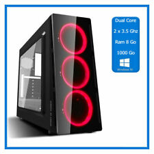 PC Gamer A6 9500 - 2 x 3.50 Ghz  - Ram 8 Go - HDD 1000 Go - Windows 10