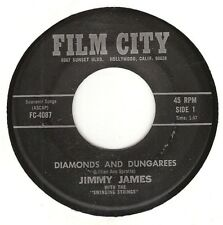 45RPM, JIMMY JAMES ' DIAMONDS & DUNGAREES ' EXC ' POP COUNTRY