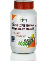 Patanjali Divya Dant Manjan Tooth Powder Gum problems & Stronger Teeth AYURVEDA