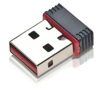 MICRO ADATTATORE NANO USB WIRELESS MINI PEN ADAPTER NETWORKING WI-FI WIFI N 150m