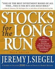 Stocks for the Long Run : The Definitive Guide to Financial Market-ExLibrary