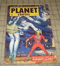 PLANET STORIES Vol V #10 (Jan 1953) Pulp, SciFi MAGAZINE, Parkhurst Cover ??