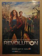 REVOLUTION NBC TV Show Series Premier Original Print Ad Advertising