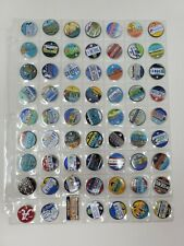 Pathtags Geocaching Lot of 63 Mixed Lot State License Plates Alabama New York &