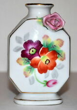 Meiko China Occupied Japan Floral Perfume Bottle