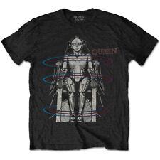 Queen 'European Tour 1984' (Black) T-Shirt - NEW & OFFICIAL!