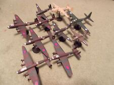 WW II Allied Bomber Aircraft Collection I: (10) Built and Painted, 1/144 Scale