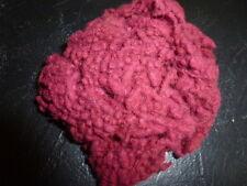 Wool Dyed Fibers Slugz One Ounce Raspberry