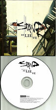 Aaron Lewis STAIND Believe CARDED SLEEVE Europe Made PROMO CD single USA Seller