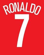 Ronaldo 7 Manchester United 2004-2005 Casa de la Liga de Campeones de fútbol local