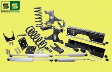 "1988 -1998 Chevy GMC C1500 W/1.25"" ROTORS V6  5""/7""-8"" Drop Kit + SHOCKS NOTCH"