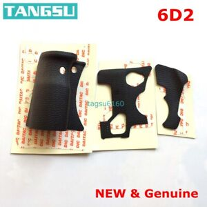 NEW For Canon 6D2 Body Rubber Front Grip + Rear + Left Side Cover
