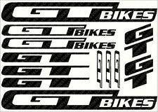 ADESIVI Decalcomanie Moto GT foglio (Ciclismo, MTB, BMX, strada, bici) Die-Cut RRP £ 3,89