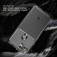 For Google Pixel 3a XL Slim Carbon Fiber Shockproof Soft Silicone Case Cover NEW
