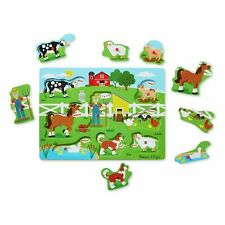 Old MacDonalds Farm Sound Puzzle Included On The Pzzle So Kids Can Sing Along