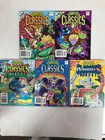 Teenage Mutant Ninja Turtles Digest 2,3,4,5,6 Lot 1993