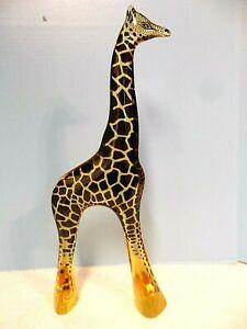 Vintage LARGE 19+ inch Palatnik Lucite Acrylic Giraffe Sculpture Figurine  2320