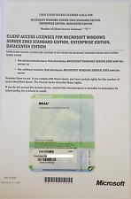 DELL Windows Server 2003 5 CALS STD ENTERPRISE DATACENTER JH244 X11-45324