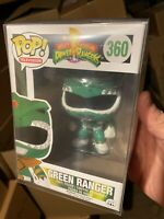 Funko Pop! Green Ranger New Protector Power Vaulted 360 *RARE *VAULTED