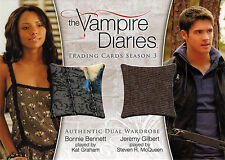Vampire Diaries Season Three DM-06 Wardrobe Costume Card Graham & McQueen