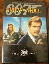 A VIEW TO A KILL (DVD, 2007) ROGER MOORE JAMES BOND